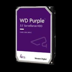 Hard Disk 4TB wd40purz